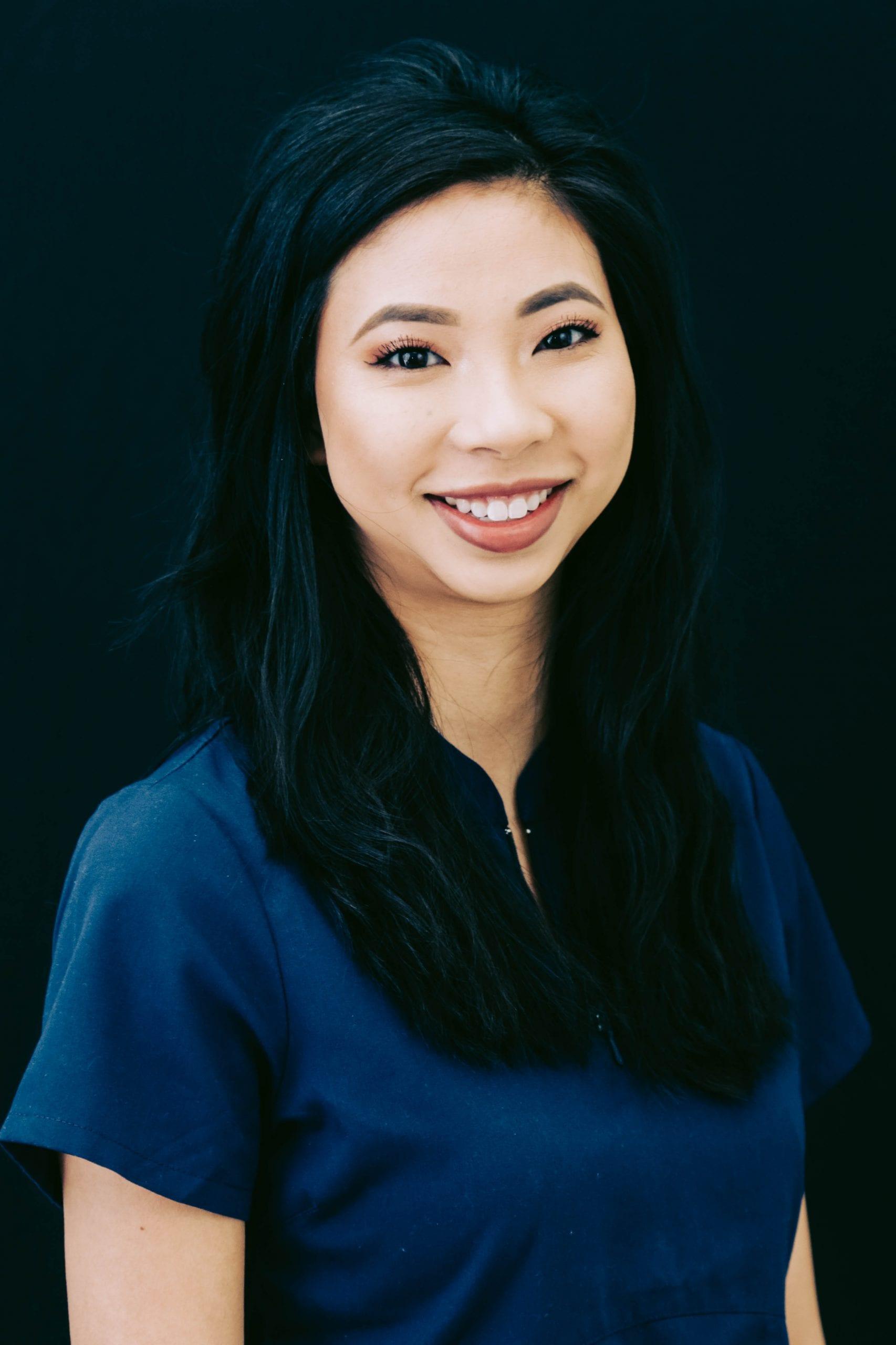 empowered asian woman headshot